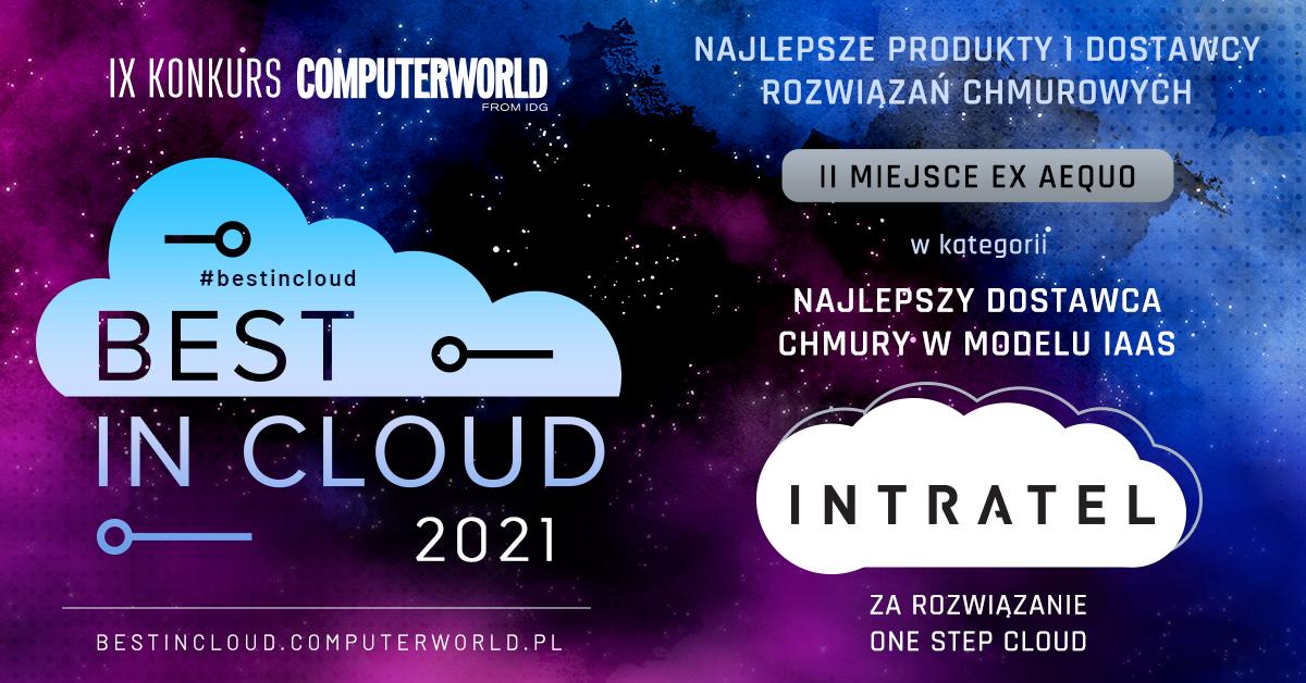 One Step Cloud z nagrodą Best In Cloud 2021